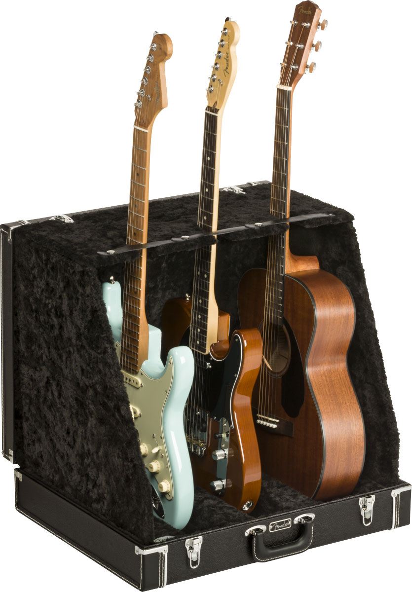 CLASSIC SERIES CASE STAND BLACK 3 GUITAR