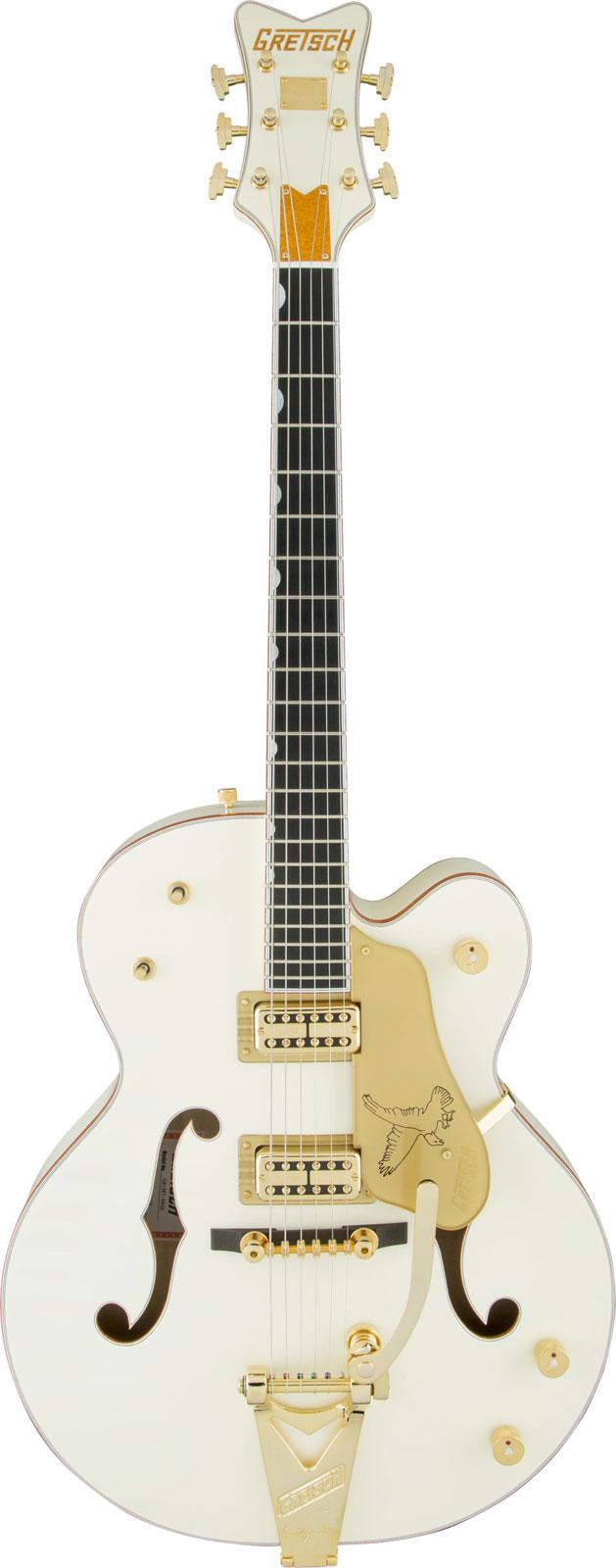 Gretsch G6136t-59ge Golden Era White Falcon Bigsby + Etui