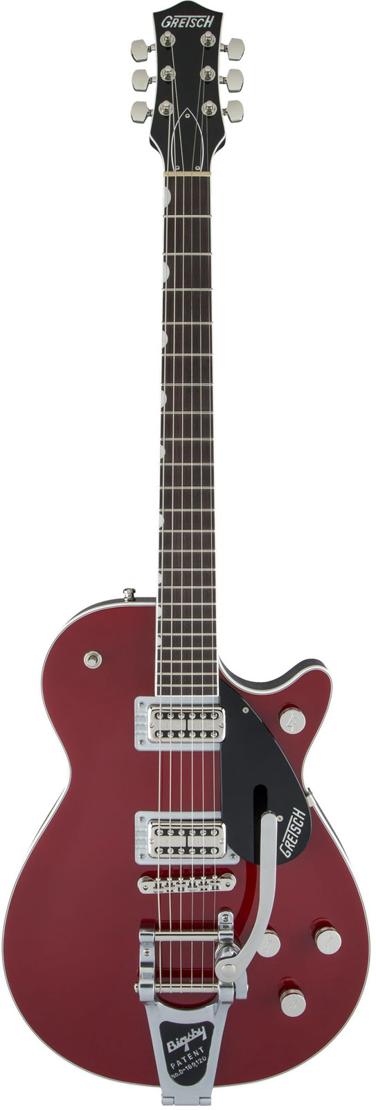 Gretsch Guitars G6131t Players Edition Jet Ft With Bigsby Rw Firebird Red