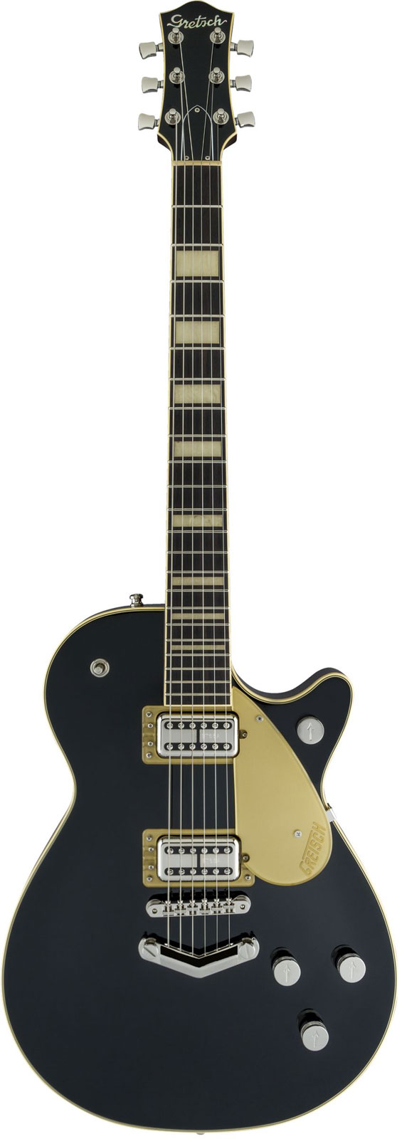 Gretsch Guitars G6228 Players Edition Jet Bt With V-stoptail Rw Black