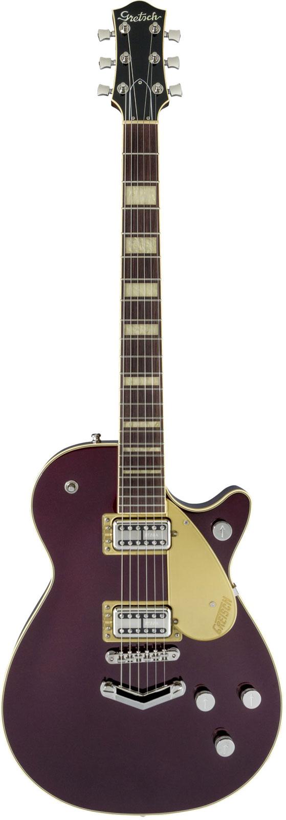 Gretsch Guitars G6228 Players Edition Jet Bt With V-stoptail Rw Dark Cherry Metallic