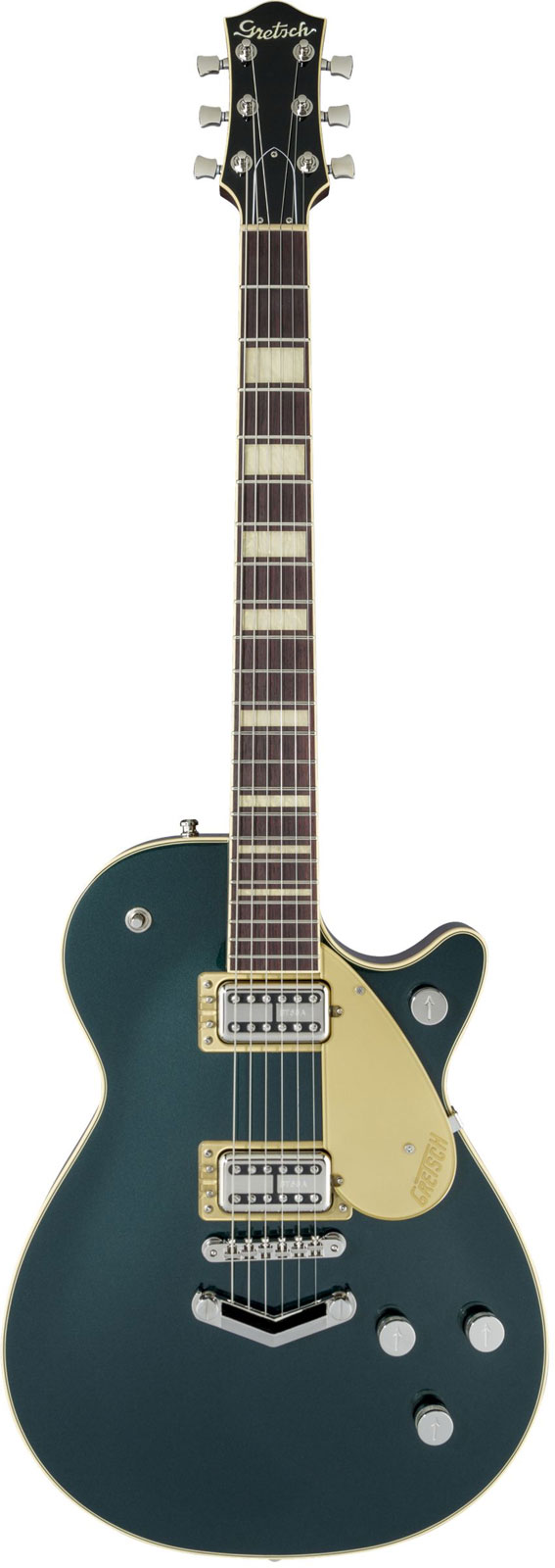 Gretsch Guitars G6228 Players Edition Jet Bt With V-stoptail Rw Cadillac Green