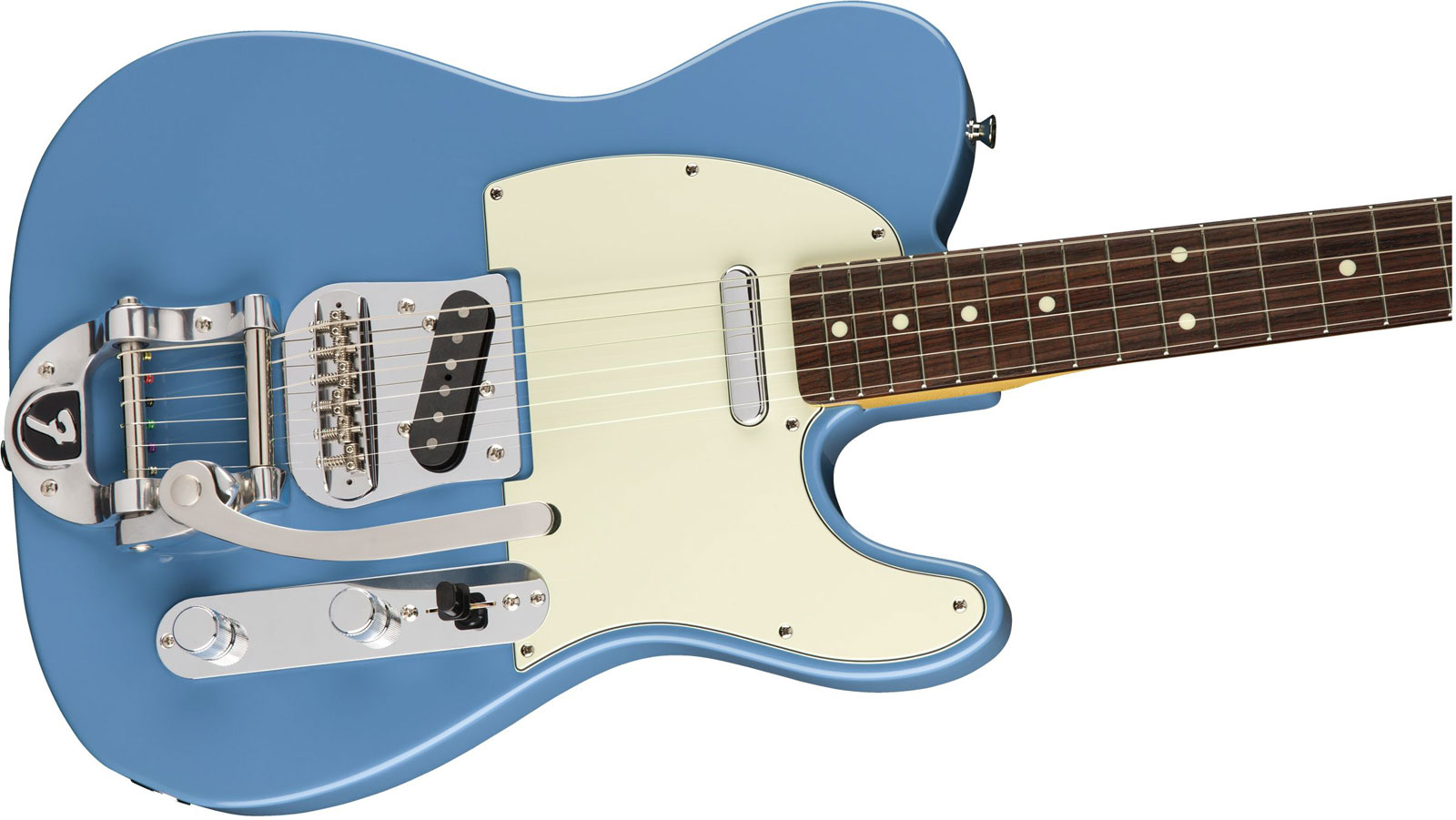 LIMITED EDITION MADE IN JAPAN TRADITIONAL 60S TELECASTER BIGSBY RW CANDY BLUE