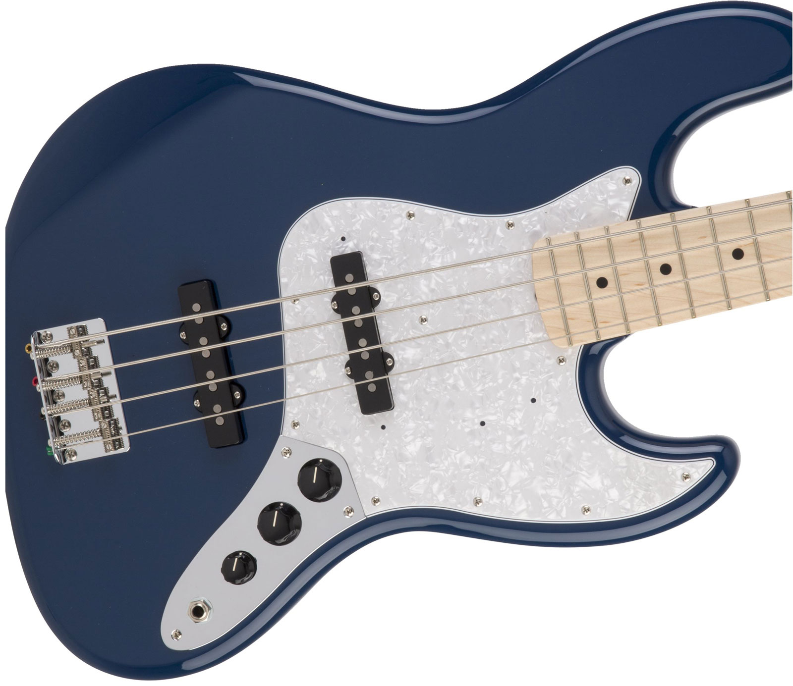 MADE IN JAPAN HYBRID JAZZ BASS MN INDIGO