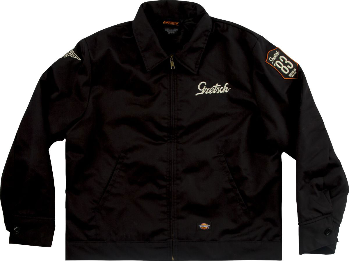 PATCH JACKET BLACK M