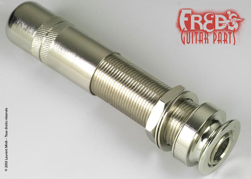 Fred S Guitar Parts Fred\'s Guitar Parts Jack Attache Courroie Fixation Exterieure Type Fishman Stereo