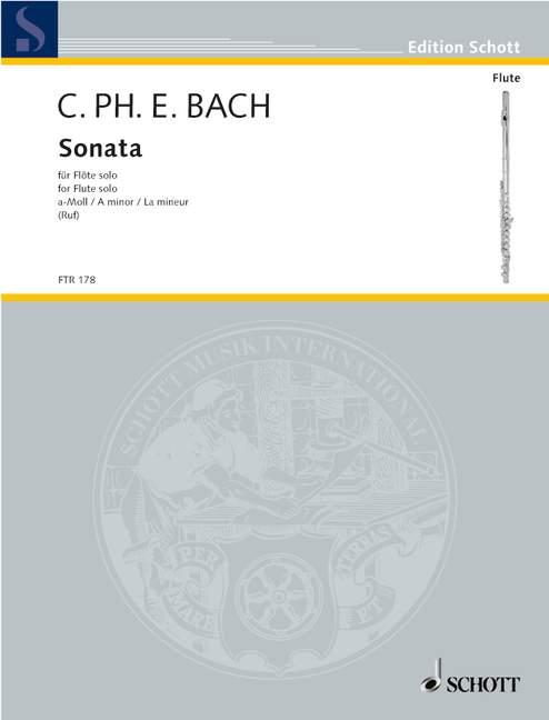Bach C.p.e. - Sonata A Minor Wq 132 - Flute