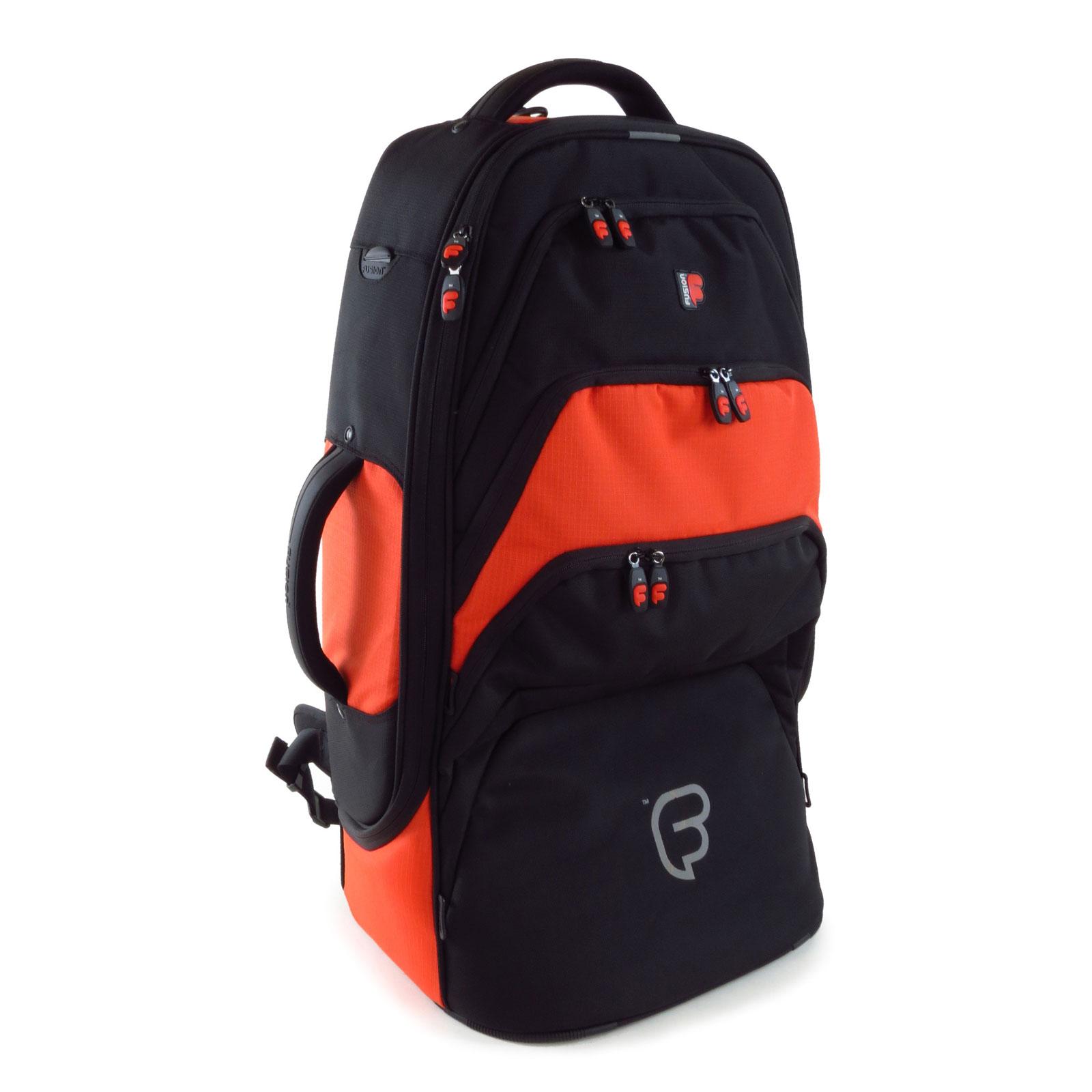 Fusion Bags Housse Euphonium Noire Et Orange Pb-13-o