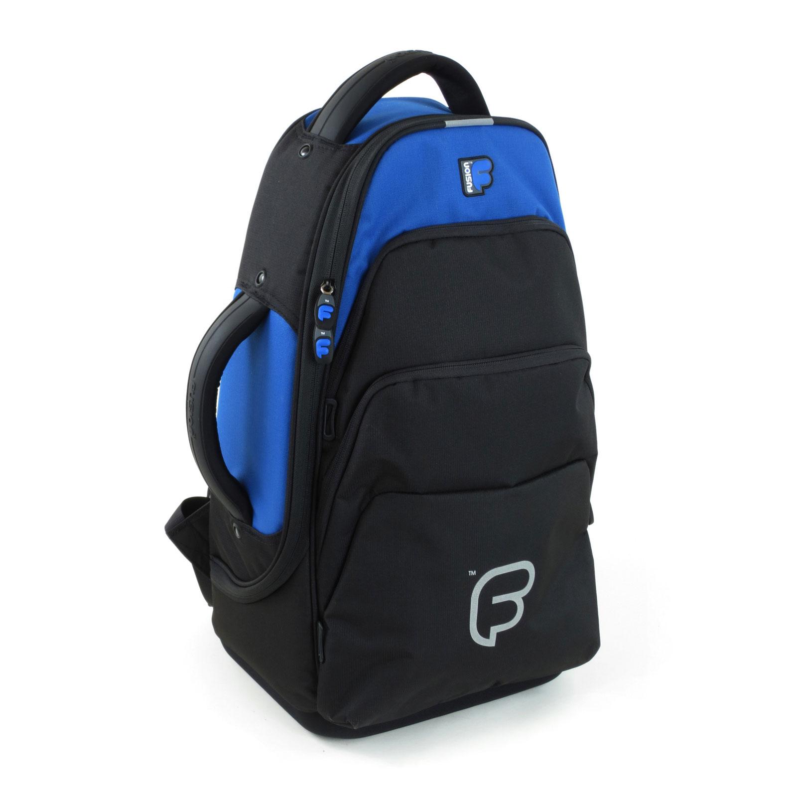Fusion Bags Housse Bugle Noire Et Bleue Ub-02-b
