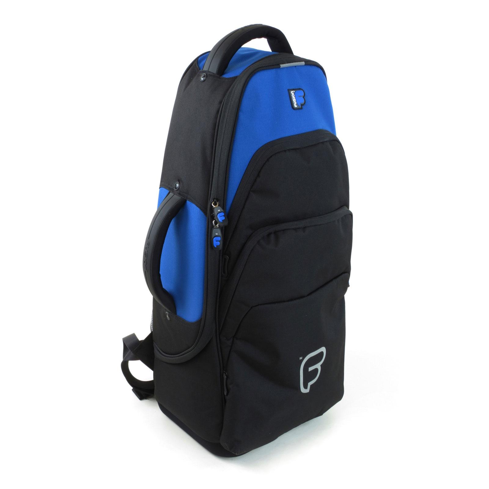 Fusion Bags Housse Saxophone Alto Noire Et Bleue Uw-02-b