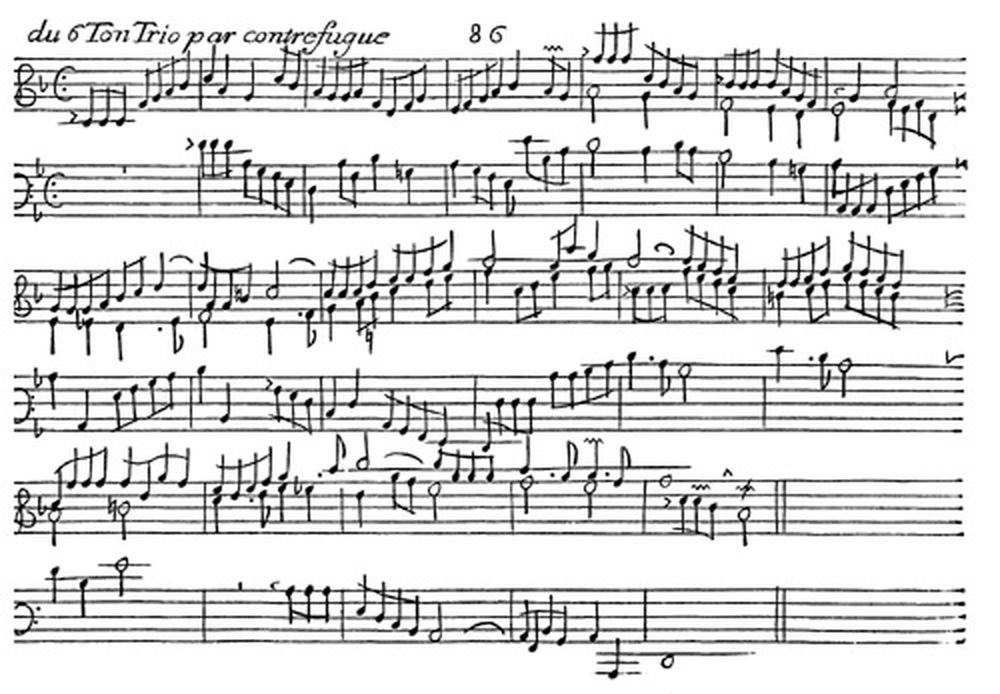 CHAUMONT L. - PIECES D'ORGUE SUR LES 8 TONS, OPUS 2, 1695 - FAC-SIMILE FUZEAU