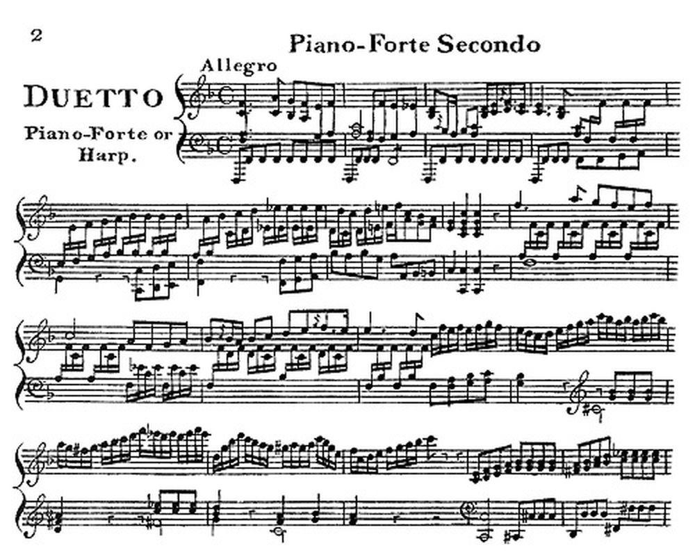 Acheter des Partitions PIANO Harpe et Piano