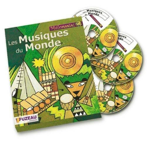 Les Musiques Du Monde - Coffret Livre + 3 Cd Audio -