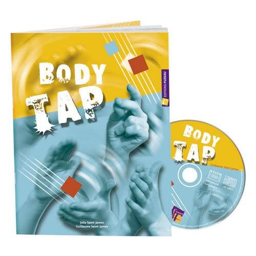 Saint-james G. - Body Tap - Livre + Cd