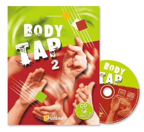 Saint-james G. - Body Tap Volume 2 - Livre + Cd