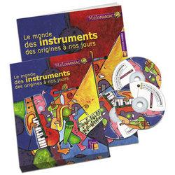 Le Monde Des Instruments Des Origines A Nos Jours - Coffret Livre + 3 Cd Audio -