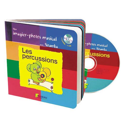 Saint-james Guillaume - Mon Imagier-photos Musical Avec Noumba Les Percussions - Livre + Cd