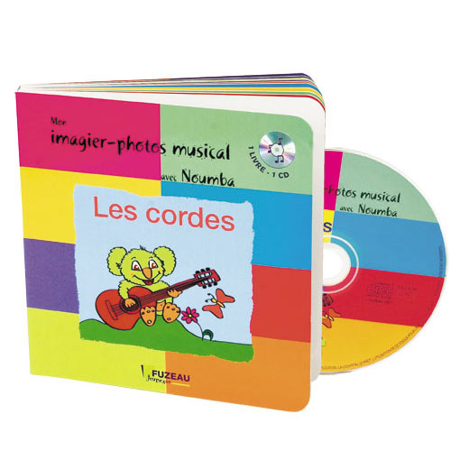 Saint-james Guillaume - Mon Imagier-photos Musical Avec Noumba Les Cordes - Livre + Cd