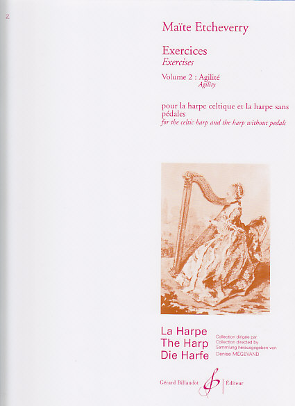 Etcheverry Maite - Exercices Vol.2 : Agilite - Harpe Celtique