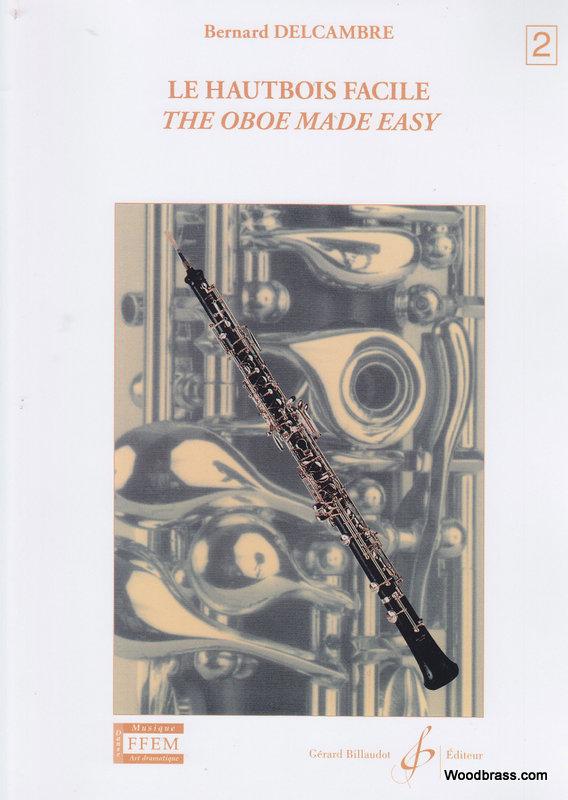 Delcambre Bernard - Le Hautbois Facile Vol.2