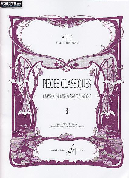 Divers Auteurs - Pieces Classiques Vol. 3 - Alto