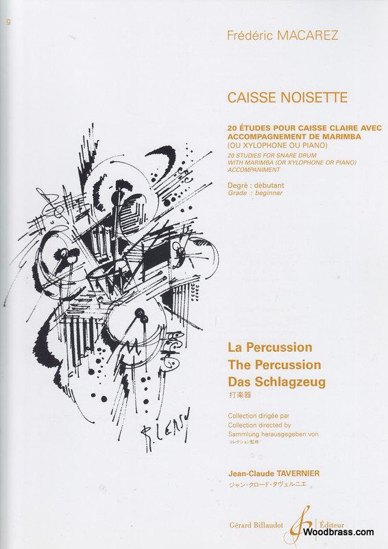 Macarez Frederic - Casse-noisette - Caisse Claire Et Marimba (xylophone)