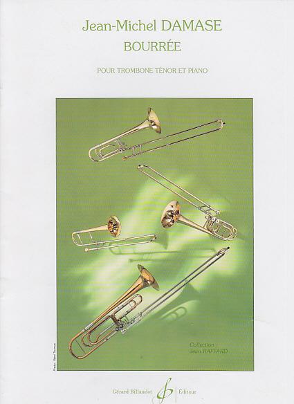 Damase Jean-michel - Bourree - Trombone, Piano