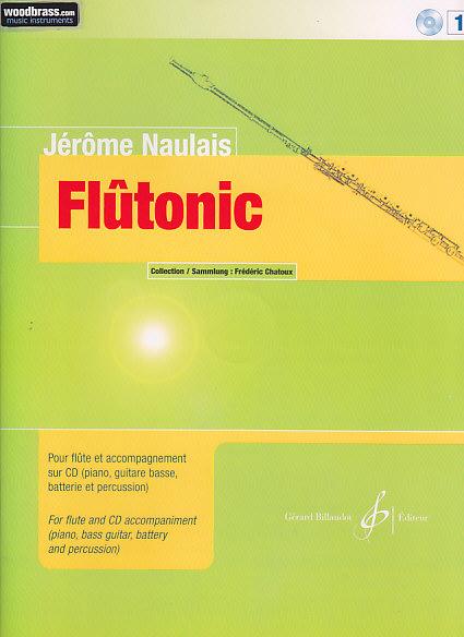 Naulais Jerome - Flutonic Vol.1 + Cd - Flute