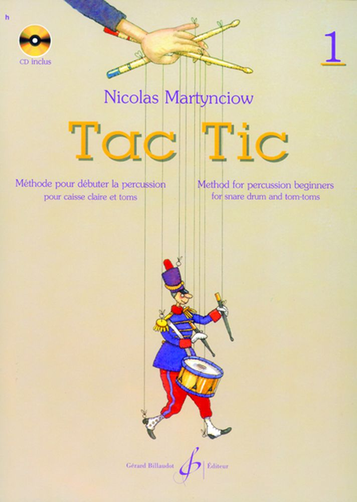 Martynciow - Tac Tic Vol.1 + Cd