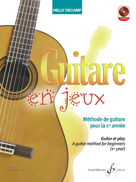 DECAMP NELLY - GUITARE EN JEUX + CD