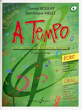 BOULAY/MILLET - A TEMPO VOL.6 ECRIT