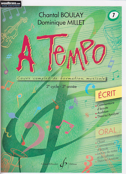 BOULAY C., MILLET D. - A TEMPO, VOL. 7 ECRIT