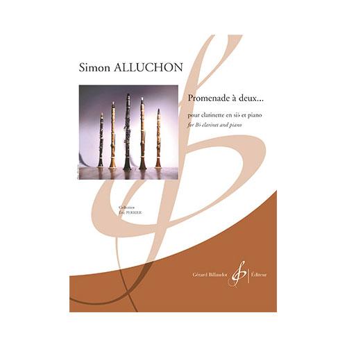 Simon Alluchon - Promenade A Deux - Clarinette