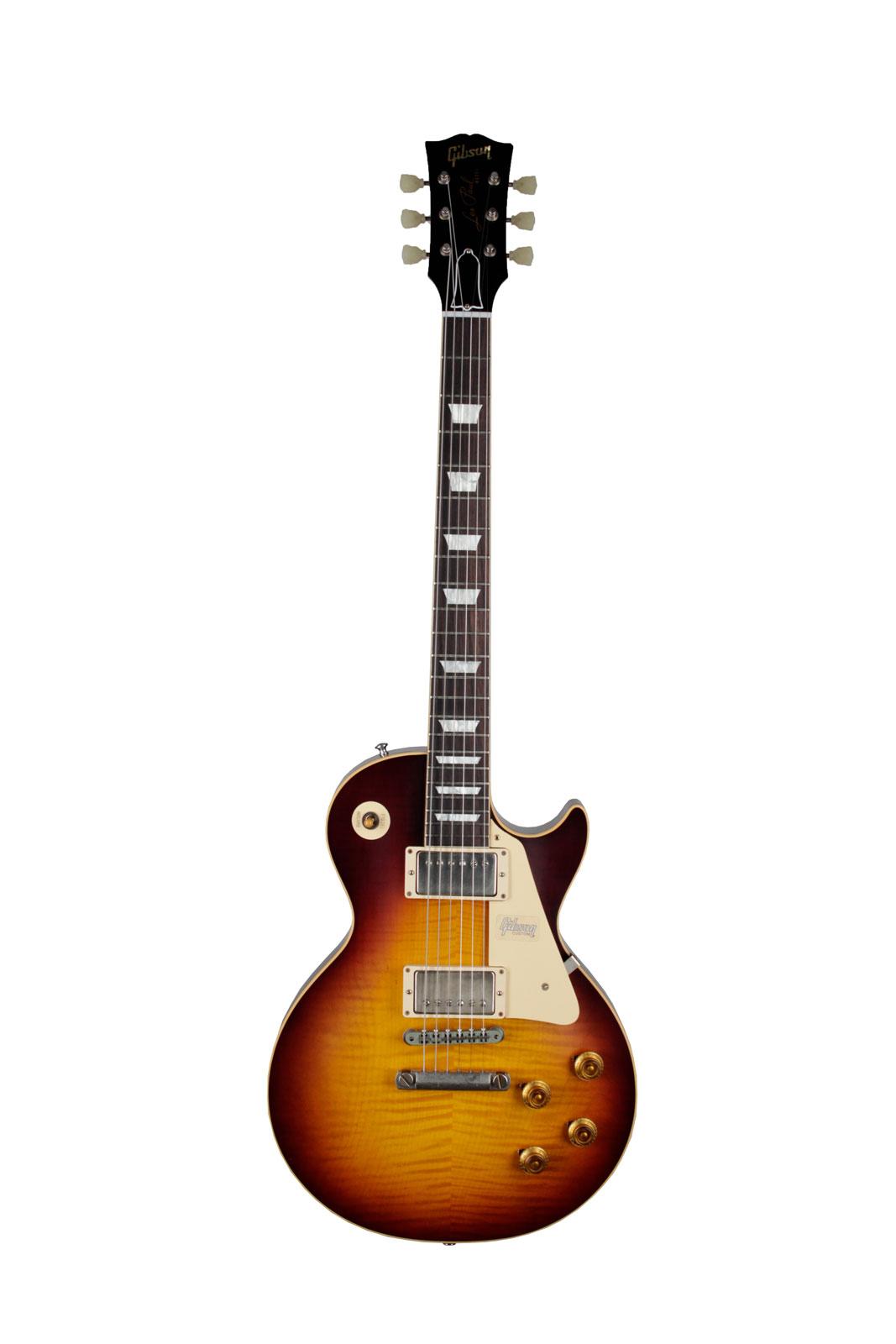 Gibson Burstdriver Les Paul Standard Lightly Figured Top Havana Fade Vos Nh 2018