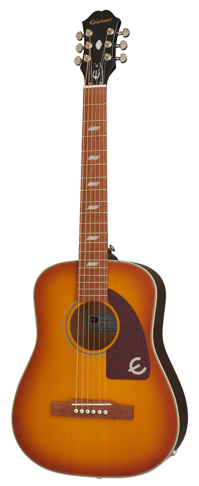 ORIGINALS TRAVEL GUITAR LIL' TEX (ELECTRIC/ACOUSTIC) FADED CHERRY SUNBURST