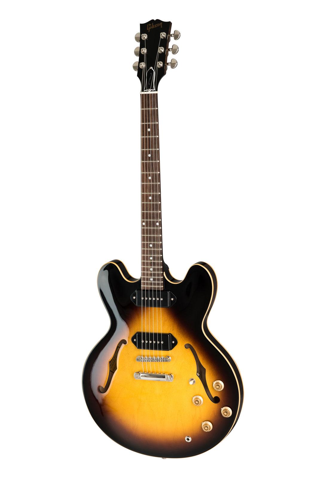 Gibson Es-335 Dot Inlay, P-90, Vintage Burst 2019