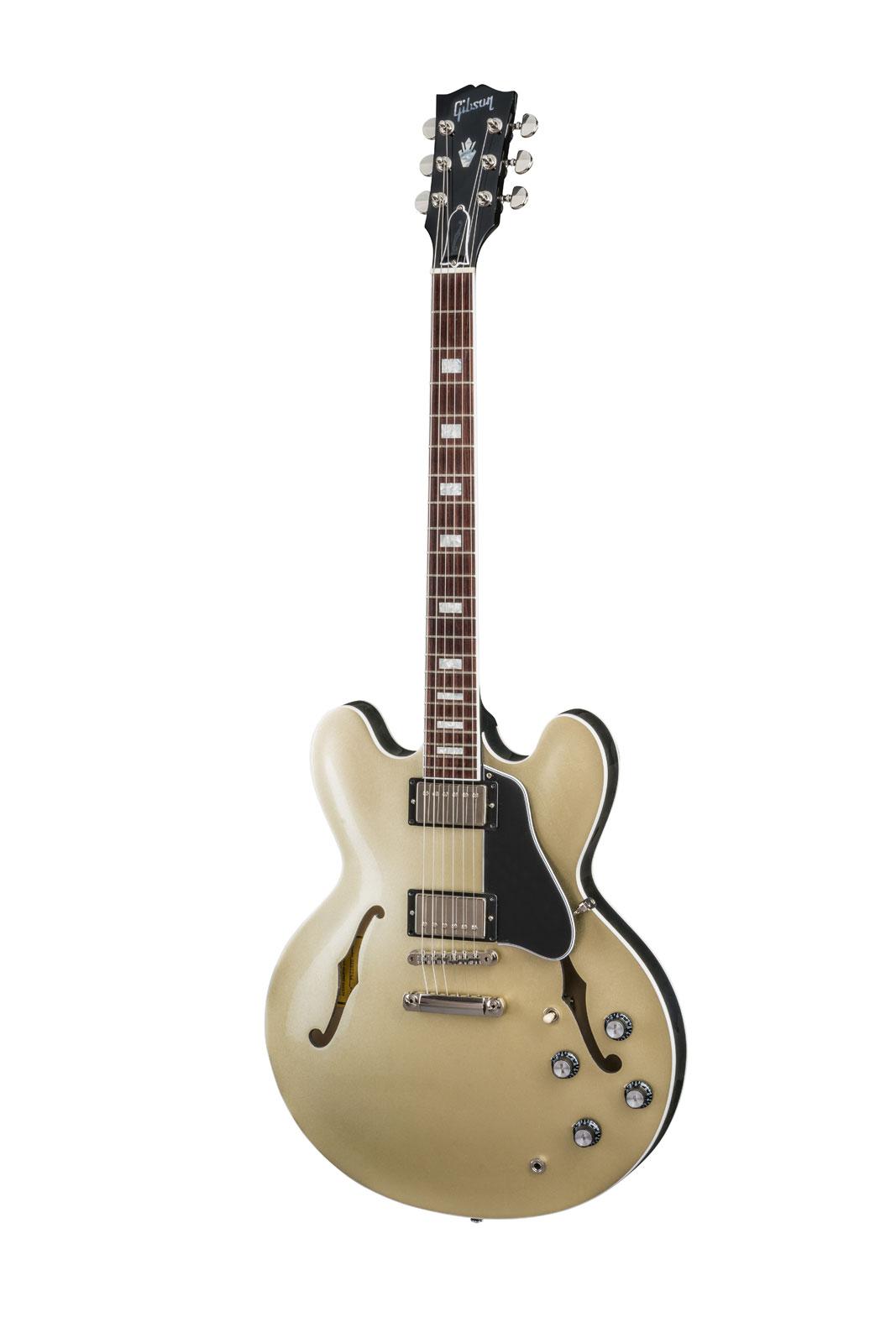 Gibson Es-335 Metallic Top Baroque Gold Baroque Gold Metallic 2018