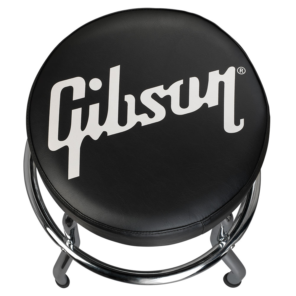 PREMIUM PLAYING STOOL, STANDARD LOGO, SHORT CHROME