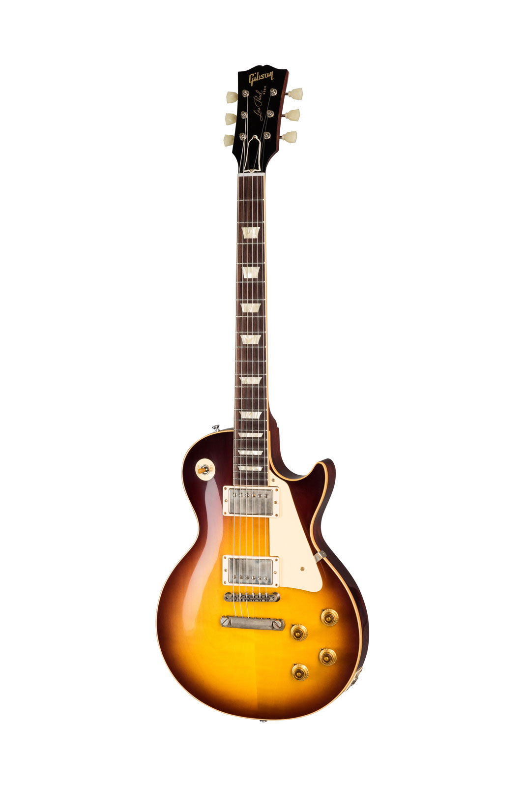 Gibson 1958 Les Paul Standard Reissue Vos Bourbon Burst