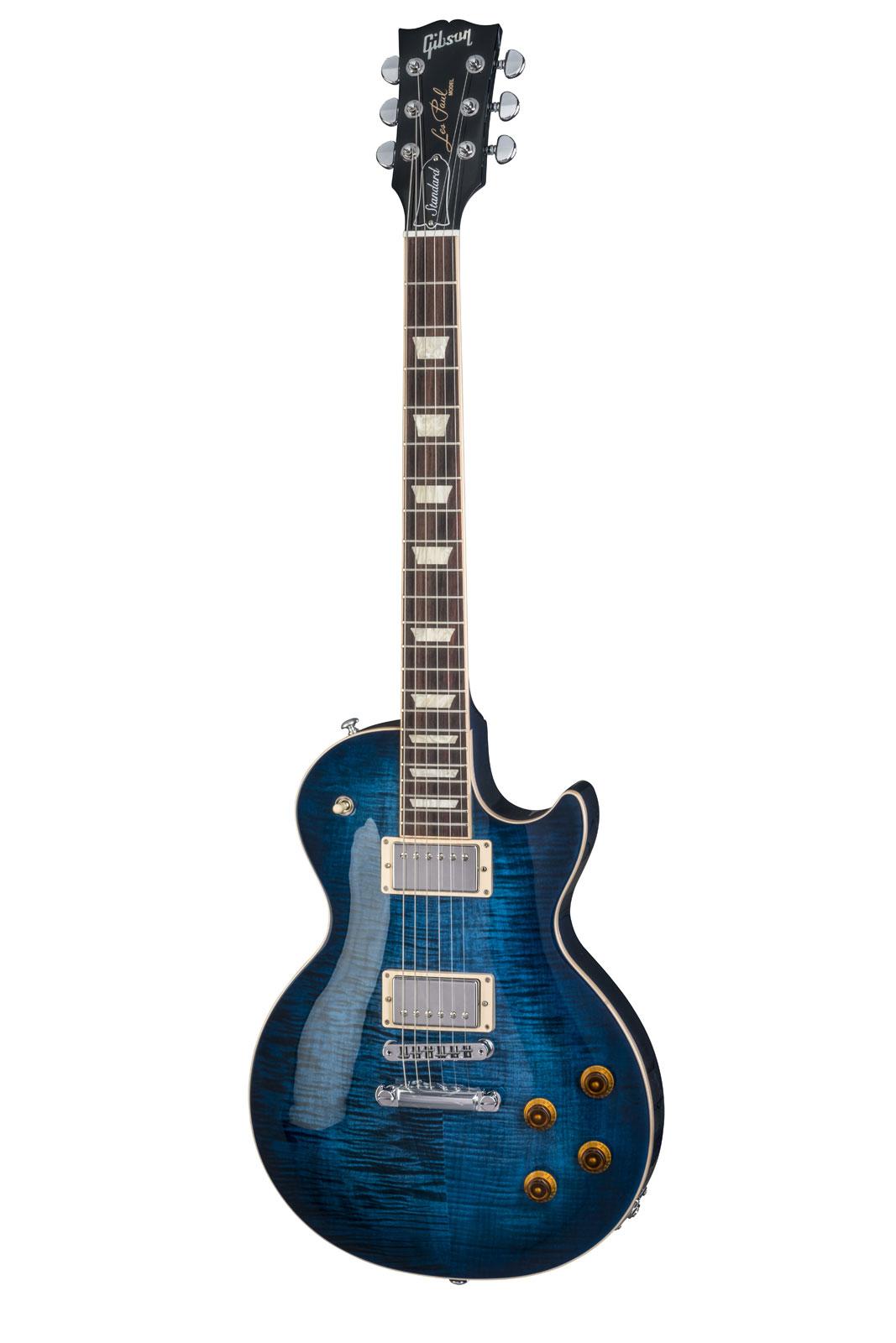 Gibson Les Paul Standard 2018 Cobalt Burst Lh Gaucher 2018