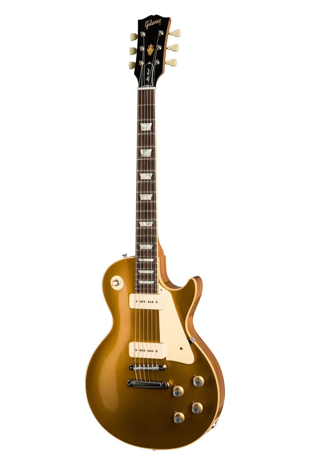 Gibson 1968 Les Paul Standard Goldtop Reissue Gloss 60s Gold