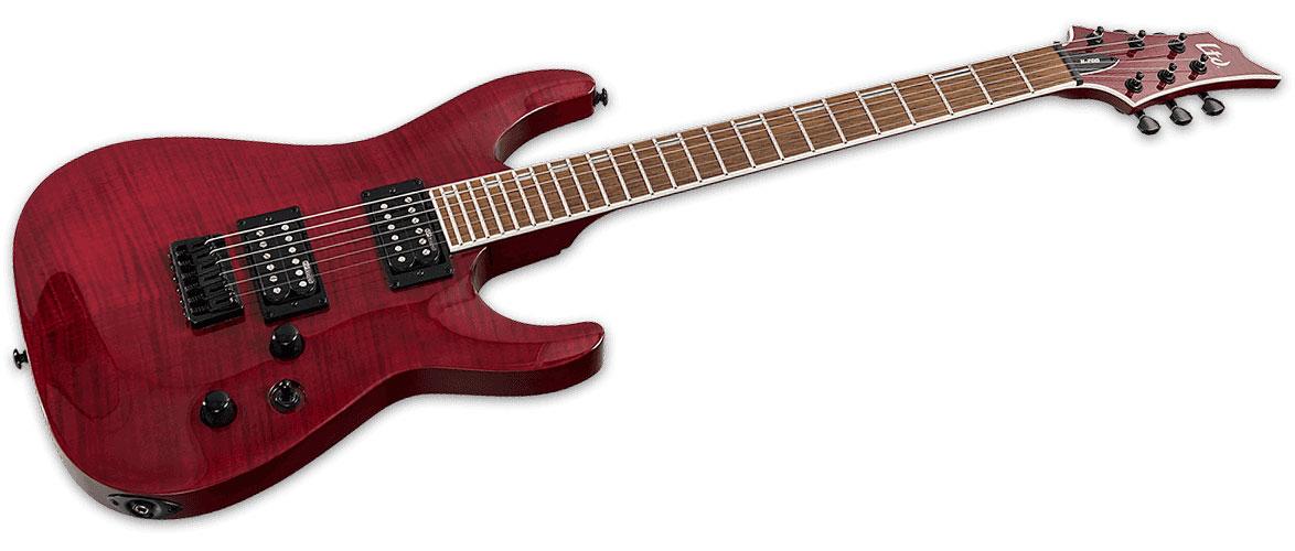 Ltd Guitars H Modele 200 Rouge Transparent