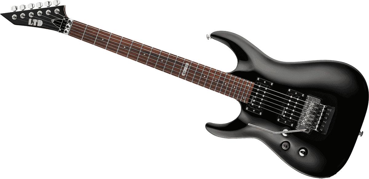 esp mh 50 black guitar buy online free. Black Bedroom Furniture Sets. Home Design Ideas
