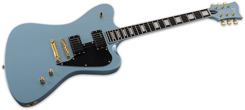 Ltd Guitars Bill Kelliher Modele Sparrowhawk Bleu Clair Nacre