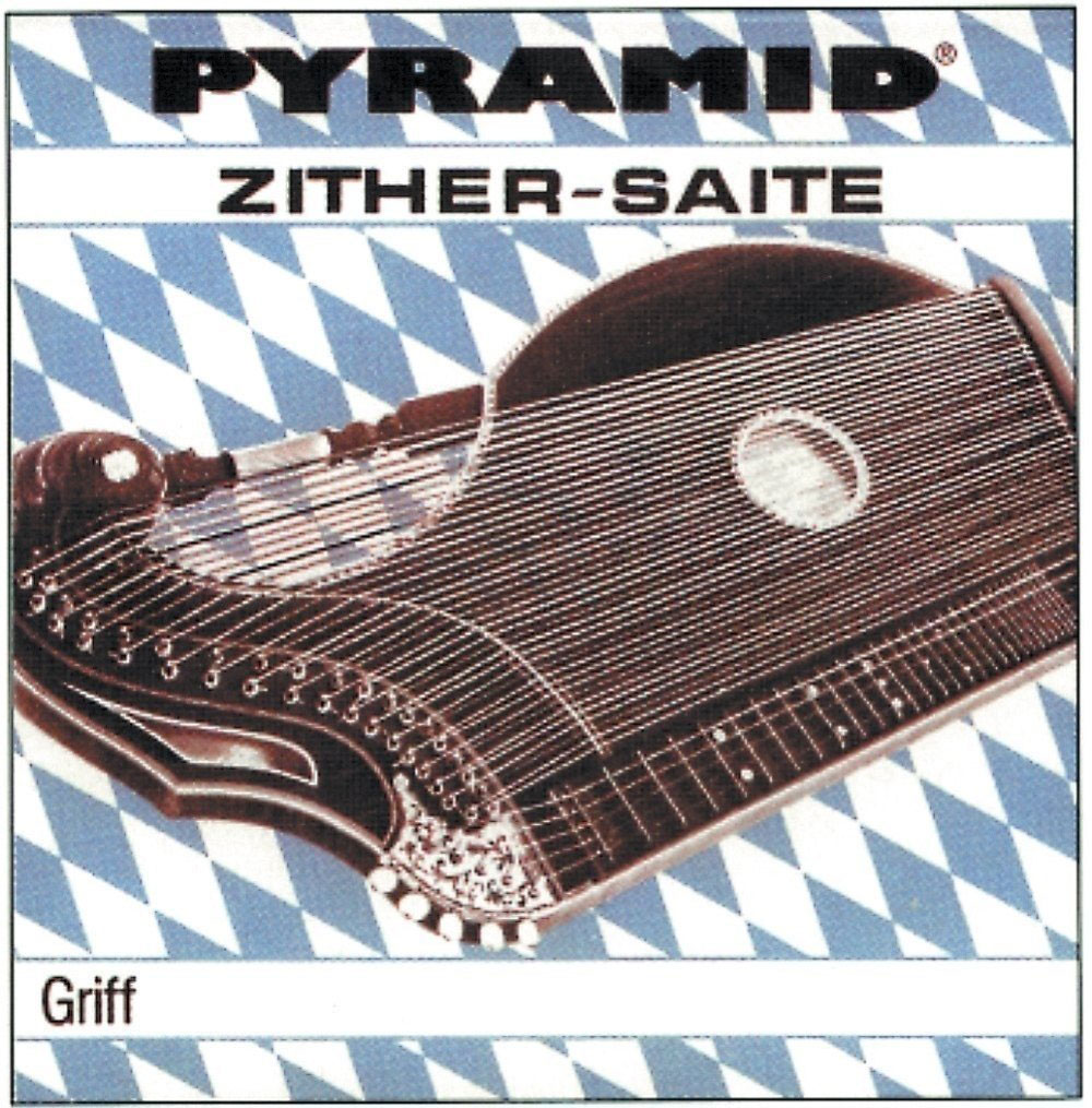 PYRAMID CITHARE STRINGS ZITHER TOUCH, MUNICH TUNING SET (RE BRONZE)