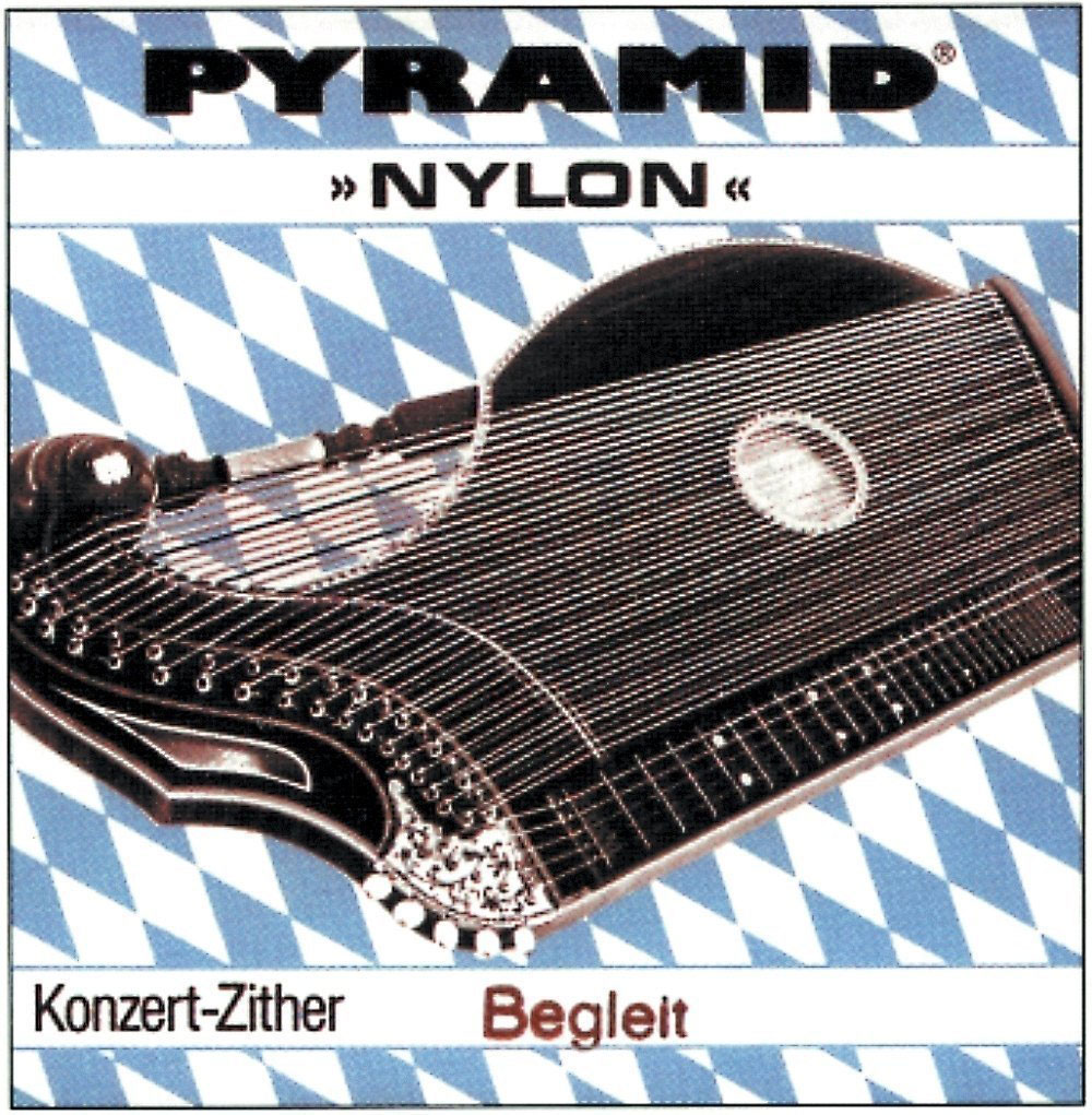 PYRAMID NYLON CITHARE STRINGS. CONCERT ZITHER E BEMOL 1.