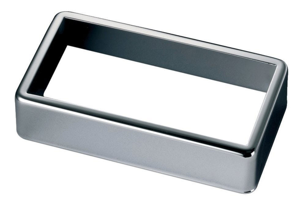 PICKUP ACCESSORIES COVER OPEN NICKEL SILVER NOIR
