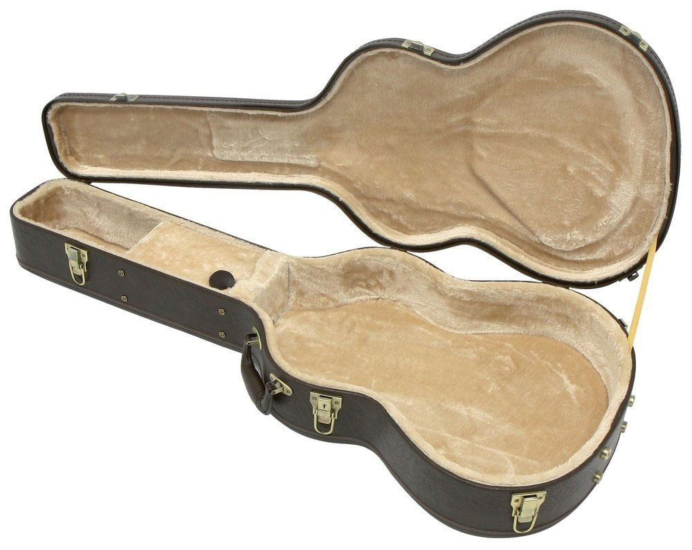 ARCHED GUITAR CASE TOP PRESTIGE BROWN CLASSIC GUITAR EDITION