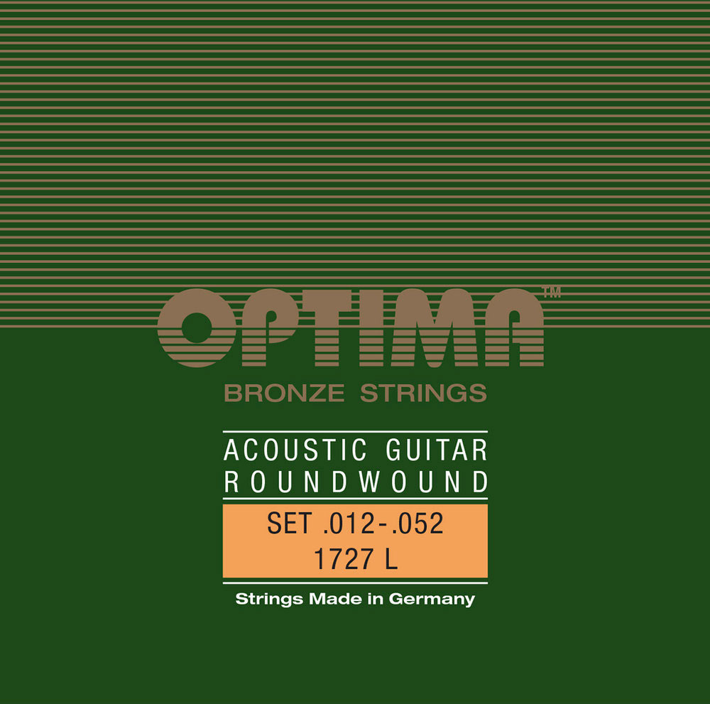 Optima cordes pour guitares acoustiques bronze strings si.016