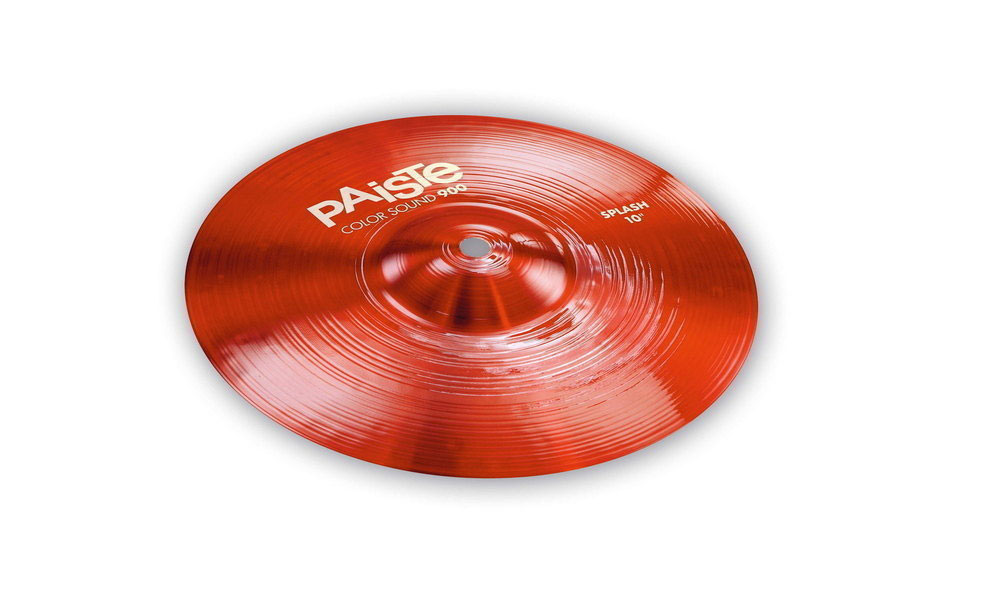 CYMBALES SPLASH 900 SERIE COLOR SOUND RED 10